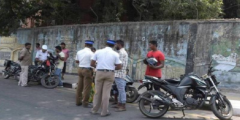 traffic-rules-breakers-fined-Rs-27-crore-by-traffic-police-in-chennai