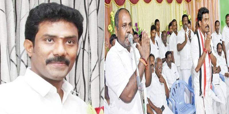 OPS-Son-Ravindranath-Kumar-as-Novel-propagation-in-Election-Campaign-at-theni