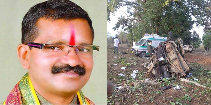 Chhattisgarh--BJP-MLA-among-five-killed-in-suspected-Maoist-attack-on-convoy--say-reports