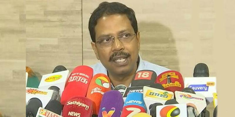 Satyabrata-Sahoo-said-that-there-will-be-no-need-for-re-election-in-Ariyalur-ponnaruppai