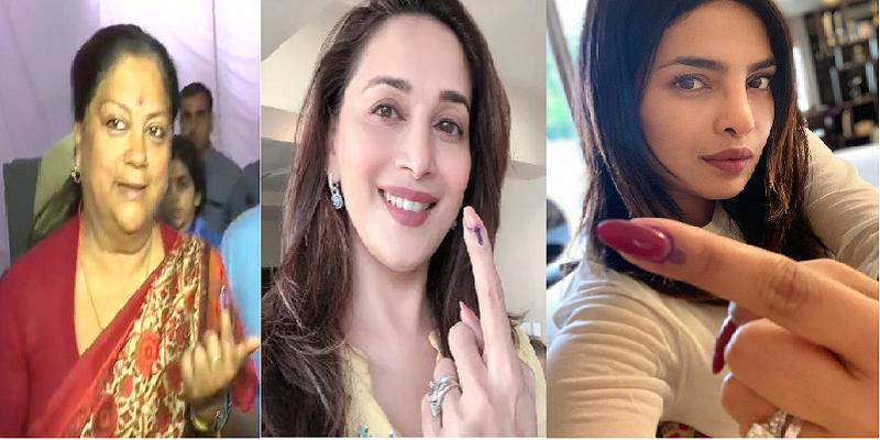Ajay--Madhuri--Aamir---other-celebs-flaunt-inked-finger-as-they-cast-their-votes-in-Lok-Sabha-Elections-2019