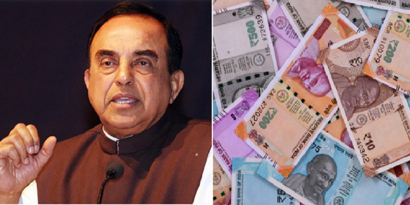 Goddess-Lakshmi-picture-on-notes-may-improve-condition-of-rupee--says-Subramanian-Swamy
