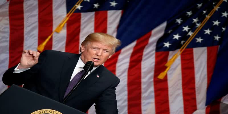 Like-India-and-China-America-also-a--developing-nation-says-US-President-Trump