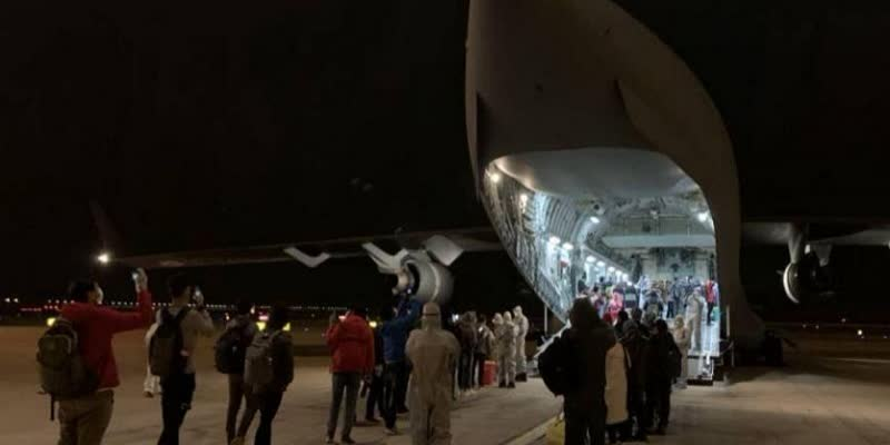 IAF-flight-delivers-medical-supplies-for-coronavirus-hit-Wuhan--returns-with-112-Indians--foreigners
