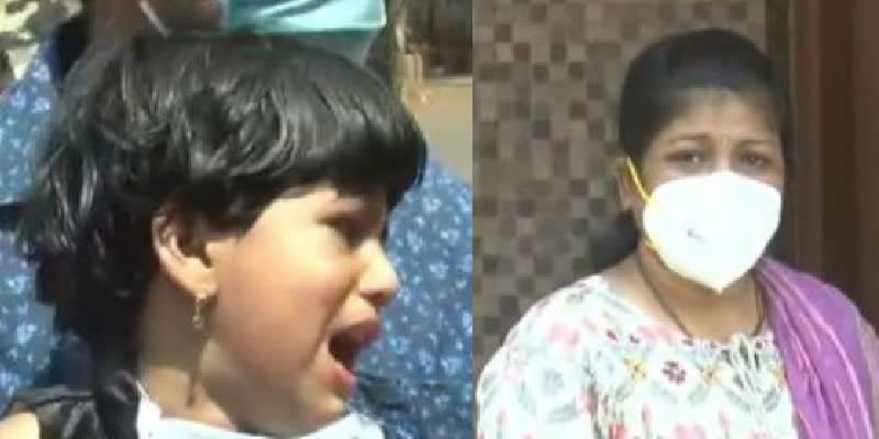 Quarantined-Nurse-in-Karnataka-Meets-3-Yr-Old-Daughter-From-a-Distance--Video-Goes-Viral