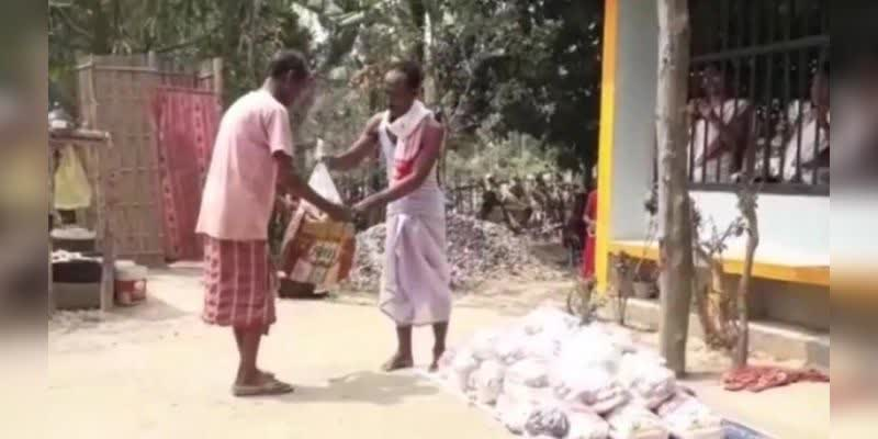 Assam-man-distributes-food-to-the-needy-instead-of-performing-wife-shraddha