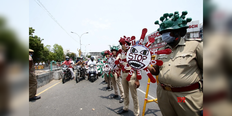 One-Police-affected-by-corona-in-Chennai---over-all-5-police-got-positive-in-Chennai-on-Taday-only