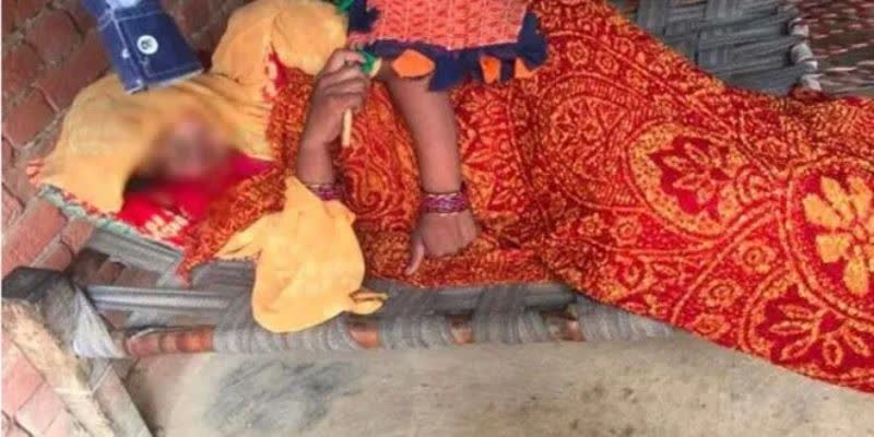 up-pregnant-woman-gives-birth-in-field-child-taken-away-by-wild-animal