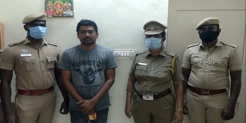 man-arrested-who-raped-woman-in-tirupur