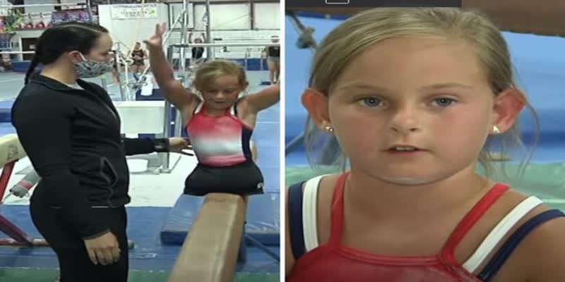8-year-old-paige-calandine-born-without-legs-competes-as-a-gymnast---her-training-videos-are-viral