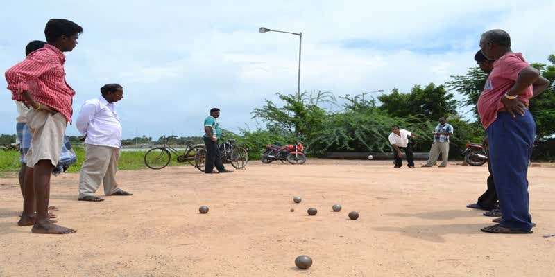 Petanque-or-Game-of-Boules-is-a-French-game-played-in-Pondicherry
