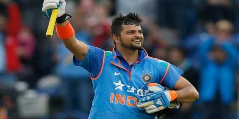 Suresh-Raina-gets-pour-of-wishes-from-team-mates-after-his-retirement-in-cricket