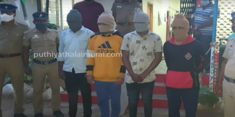 woman-arrested-in-kirushnagiri-due-to-robbery-case-including-5-facebook-friends